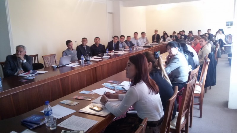 Seminar for Jizzakh HEIs