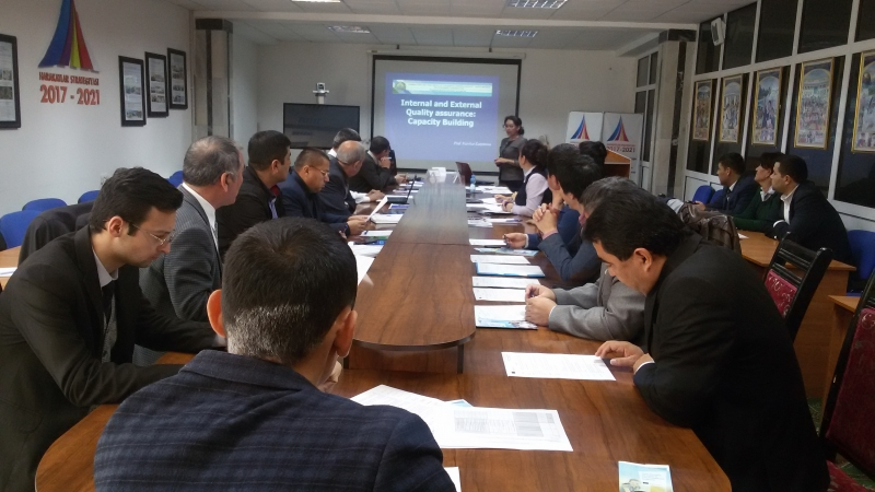 Information seminar for Urgench and Nukus HEIs