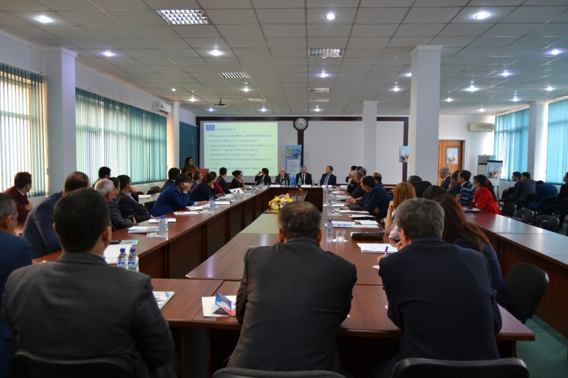 "TAM seminar on ""Learning outcomes: tools and approaches  for  improving qualification frameworks in the higher education system of Uzbekistan"""