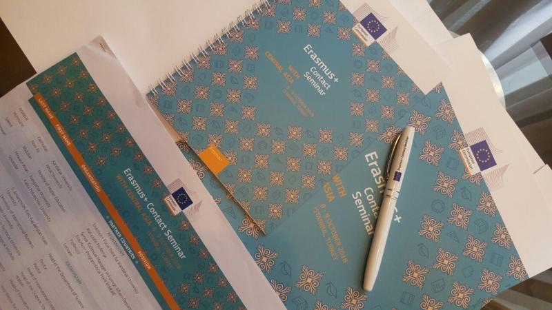 Региональный контактный семинар Erasmus+ в Стамбуле