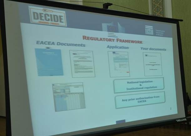 Kick-off meeting of DECIDE project