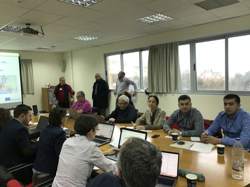 Kick-off meeting of the ITEM project