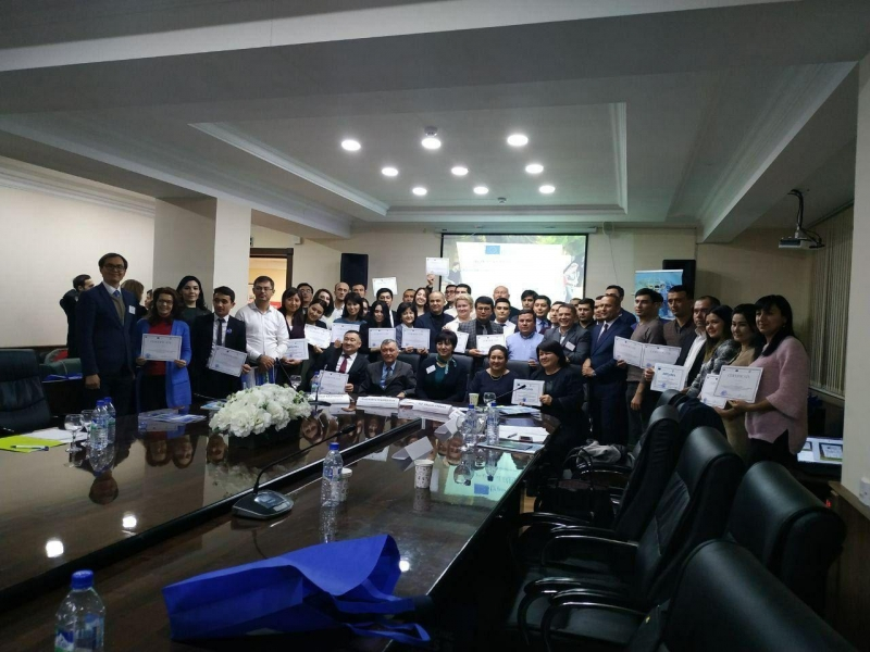 """The third scientific-practical conference """"Erasmus+ International Сredit Mobility: a role in improving the quality of education and scientific research in Uzbekistan""""."""