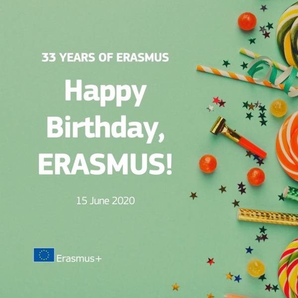 Happy birthday, Erasmus+!