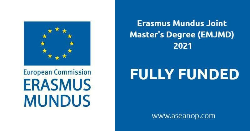 Available Erasmus Mundus Programmes: Social Science and Humanities