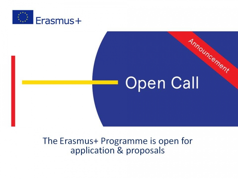 The Erasmus+ Call for 2021 has been published