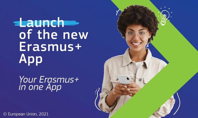 Launch of Erasmus+ App