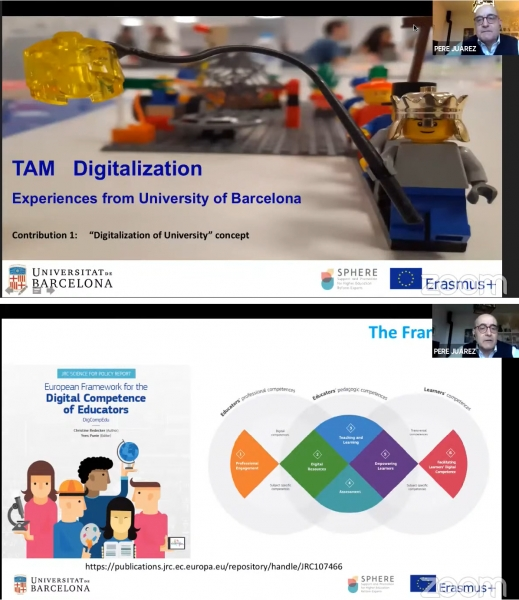 TAM Seminar: Digitalisation of university: concept and its role in the reforming of the HEIs