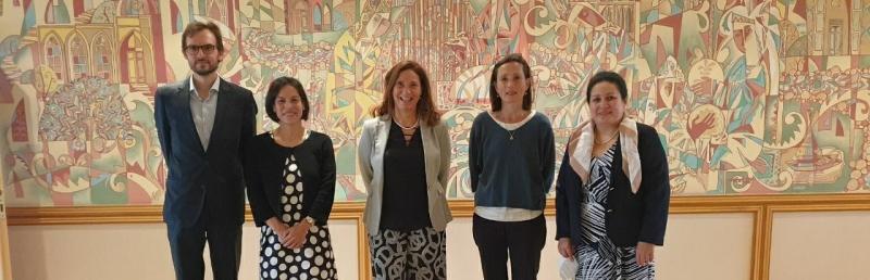 Meeting with represetatives of the University of Porto