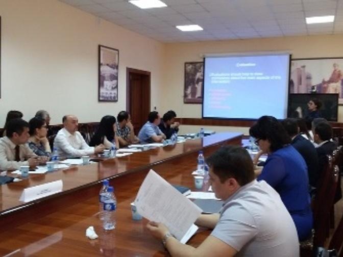 Seminar for HEREs in Samarkand