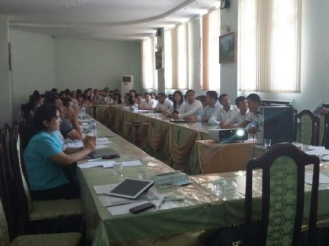 Infoseminar for HEIs in Jizzakh