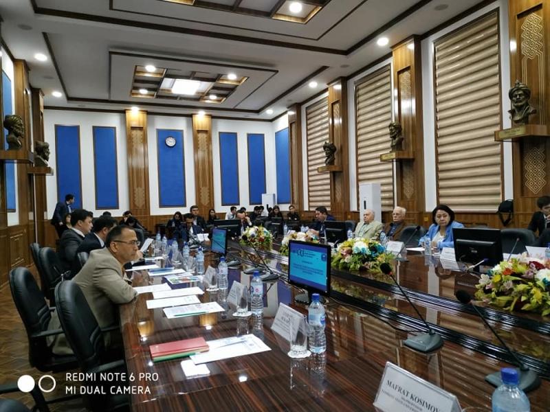 Первая рабочая сессия проекта Жан Моне в ТГЭУ