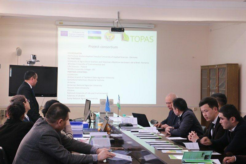 Мониторинг проекта TOPAS