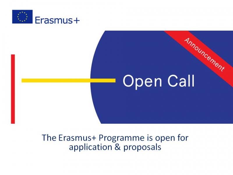 Объявлен конкурс программы Erasmus+ на 2021 год