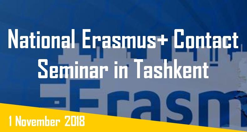 Toshkentda milliy Erasmus+ kontakt seminari