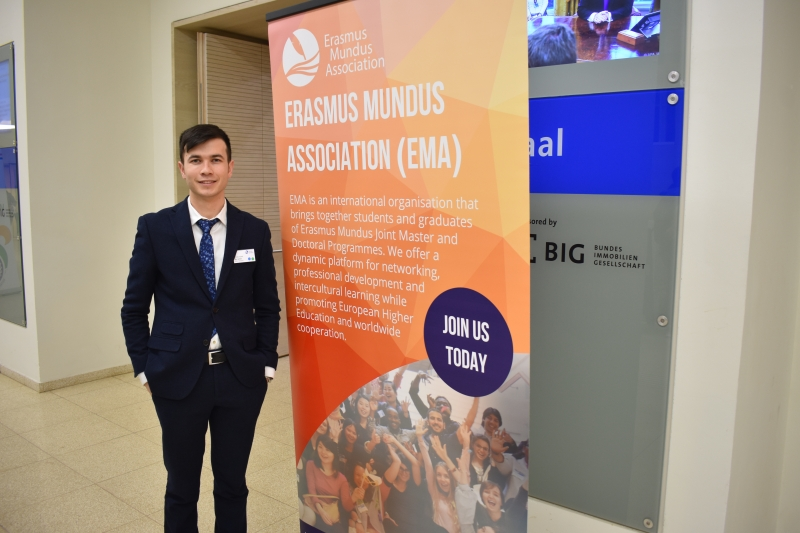 Erasmus Mundus Joint Master Degree dasturi haqida online translyatsiyasi