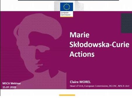 Marie Skłodowska-Curie dasturi bo'yicha ilk tadbirining video yozuvi